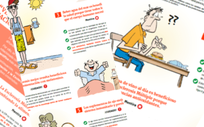 Verdades y Mentiras sobre alimentación y Esclerosis Múltiple                                        5/5(7)