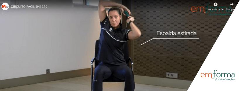 Circuitos de entrenamiento con Esclerosis Múltiple, NIVEL FÁCIL