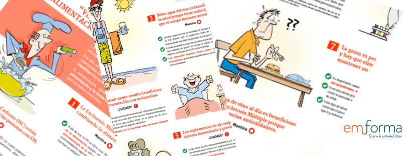 Verdades y Mentiras sobre alimentación y Esclerosis Múltiple                                        4.75/5(4)
